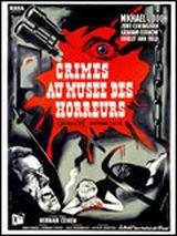 Affiche Crimes au musée des horreurs