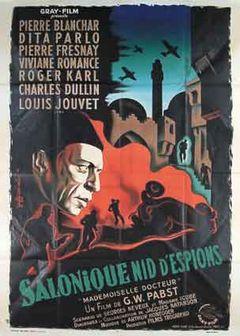 Affiche Salonique, nid d'espions