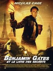 Affiche Benjamin Gates et le Livre des secrets