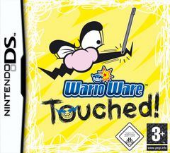 Jaquette Wario Ware Touched !