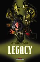 Couverture Monstre - Star Wars : Legacy, tome 8