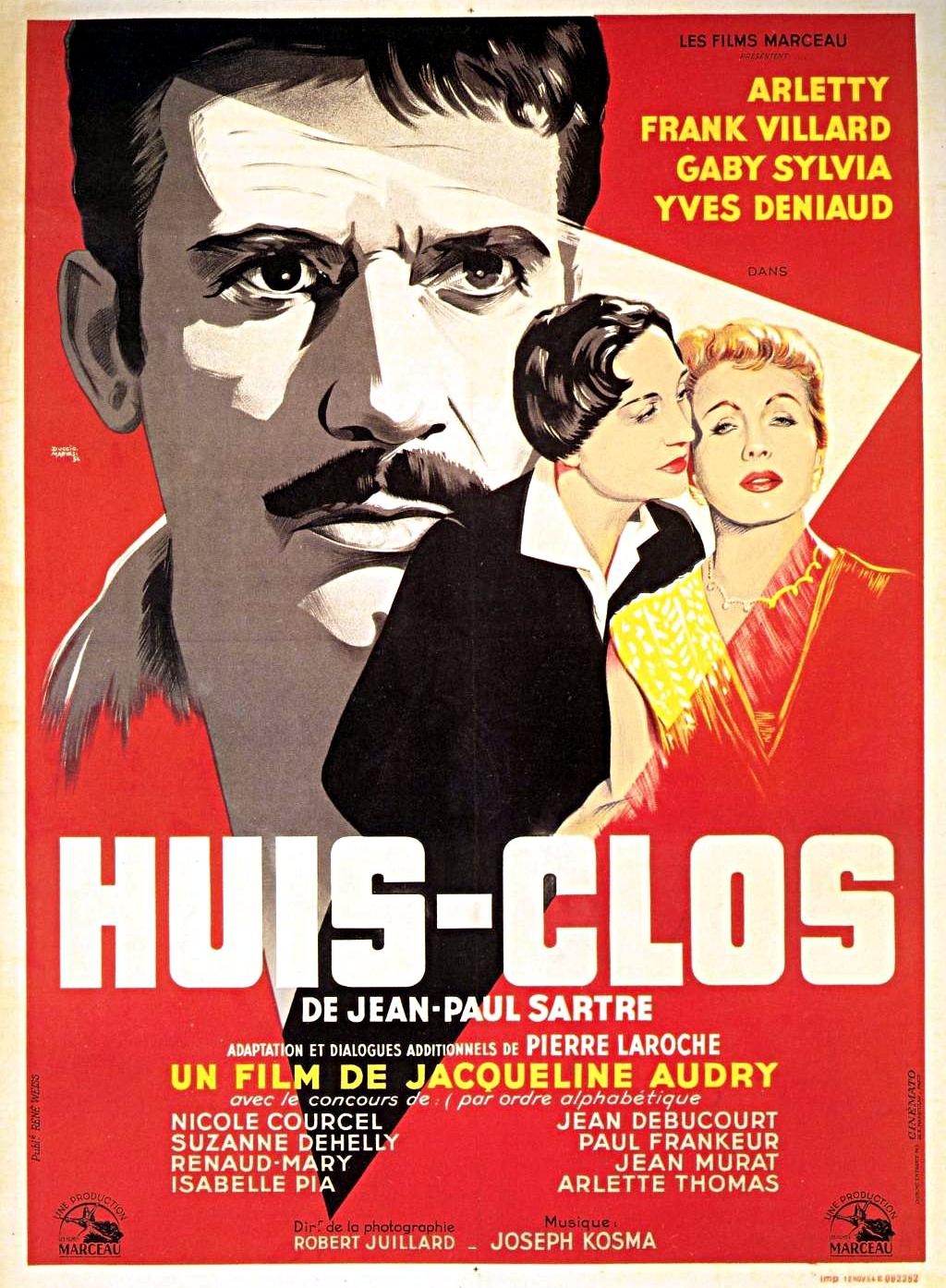 huis clos film 1954 senscritique