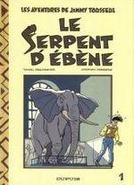 Couverture Le Serpent d'ébène - Jimmy Tousseul, tome 1