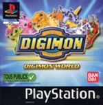 Jaquette Digimon World