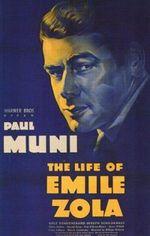 Affiche La Vie d'Emile Zola