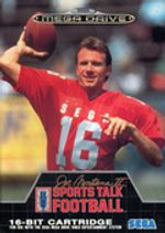 Jaquette Joe Montana II : Sports Talk Football