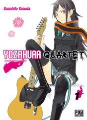 Couverture Yozakura Quartet