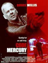 Affiche Code Mercury