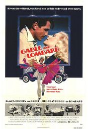 Affiche Gable and Lombard