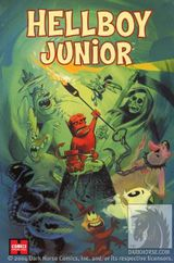 Couverture Hellboy Junior