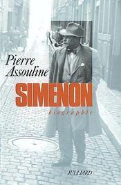 Couverture Georges Simenon