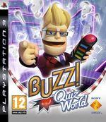 Jaquette Buzz ! Quiz World