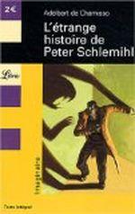 Couverture L'étrange histoire de Peter Schlemihl
