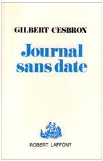 Couverture Journal sans date
