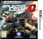 Jaquette Splinter Cell 3D