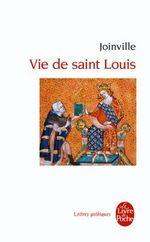 Couverture Vie de saint Louis