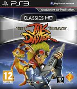 Jaquette The Jak and Daxter Trilogy