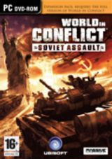 Jaquette World in Conflict : Soviet Assault