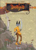 Couverture La Princesse des barbares - Donjon Zénith, tome 3