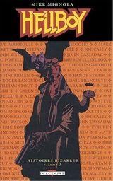 Couverture Hellboy : Histoires bizarres, tome 1