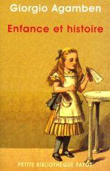 Couverture Enfance et histoire