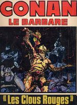 Couverture Les Clous rouges - Conan le barbare