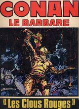Couverture Les Clous rouges - Conan le barbare