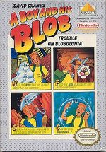Jaquette A Boy and His Blob : Trouble on Blobolonia