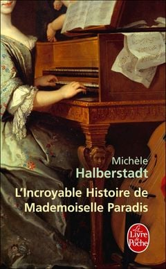 Couverture L'incroyable histoire de mademoiselle Paradis