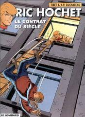 Couverture Le Contrat du siècle - Ric Hochet, tome 64