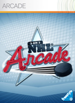Jaquette 3 on 3 NHL Arcade