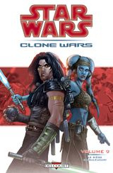Couverture Le Siège de Saleucami - Star Wars : Clone Wars, tome 9