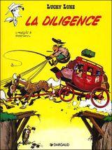 Couverture La Diligence - Lucky Luke, tome 32
