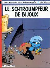 Couverture Le Schtroumpfeur de bijoux - Les Schtroumpfs, tome 17