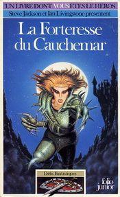 Couverture La Forteresse du cauchemar - Défis fantastiques, tome 25