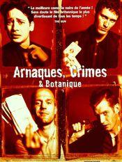 Affiche Arnaques, crimes et botanique