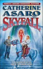 Couverture Skyfall - La Saga de l'Empire Skolien, tome 9