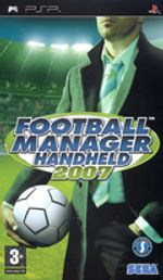Jaquette Football Manager Handheld 2007