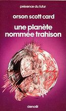 Couverture Une planète nommée trahison