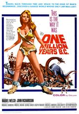 Affiche Un million d'années avant J.-C.