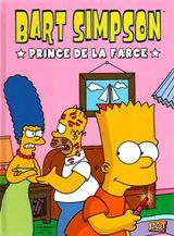 Couverture Prince de la farce - Bart Simpson, tome 1