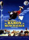 Affiche Les Aventures du baron de Münchausen