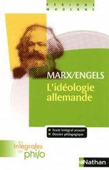 Couverture L'Idéologie allemande