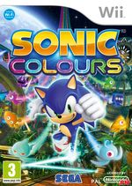 Jaquette Sonic Colours