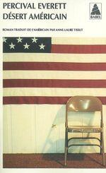 Couverture Désert américain