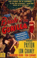 Affiche La fiancée du gorille