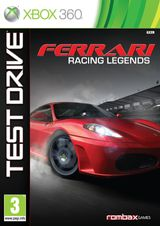 Jaquette Test Drive : Ferrari Racing Legends