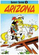 Couverture Arizona - Lucky Luke, tome 3