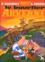 Couverture Le Bouclier Arverne - Astérix, tome 11