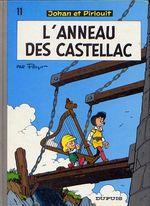 Couverture L'Anneau des Castellac - Johan et Pirlouit, tome 11